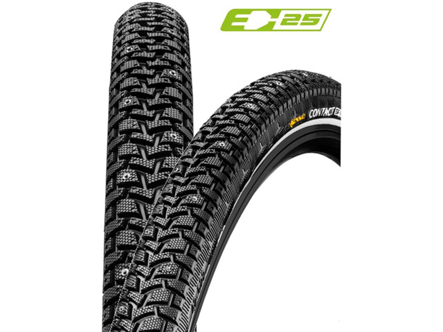"Continental Contact Spike 120 Wired-on Tire 28"" E-25 Reflex black"